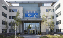 The production site of Auping
