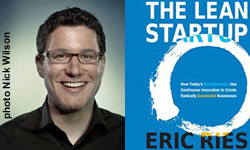 Eric Ries compares lean R&D with driving, tuning and steering a car simultaneously