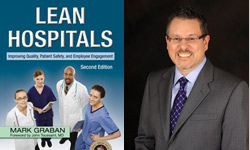 Cover Lean Hospitals & author Mark Graban