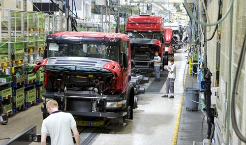 Scania, production Södertalje