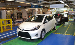 Production of the Toyota Yaris in France