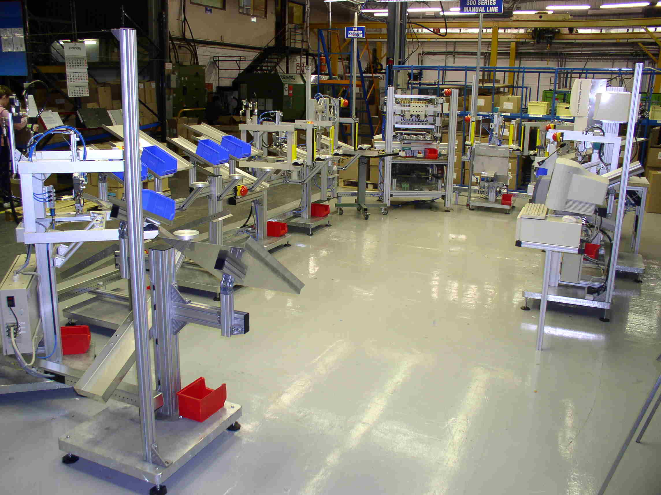 5s Manufacturing Assembly : Lean manufacturing