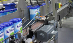 Packaging line for Nutrilon baby food